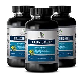 Testo Boost - Pure Tribulus Terrestris Extract 1000mg 45% Saponins - Tribulus terrestris fruits -