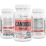 Candida Cleanse Detox - KLEENIQ ® Extra Strength Yeast Infection Supplement with Herbs, Enzymes & Probiotics - Boosts Immune System, Supports Diet & Weight - Help in Maintaining the Natural Antifungal