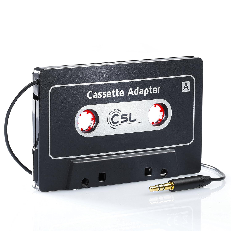 csl adaptateur universel autoradio cassette aux fiche jack 3 5 mm ebay. Black Bedroom Furniture Sets. Home Design Ideas