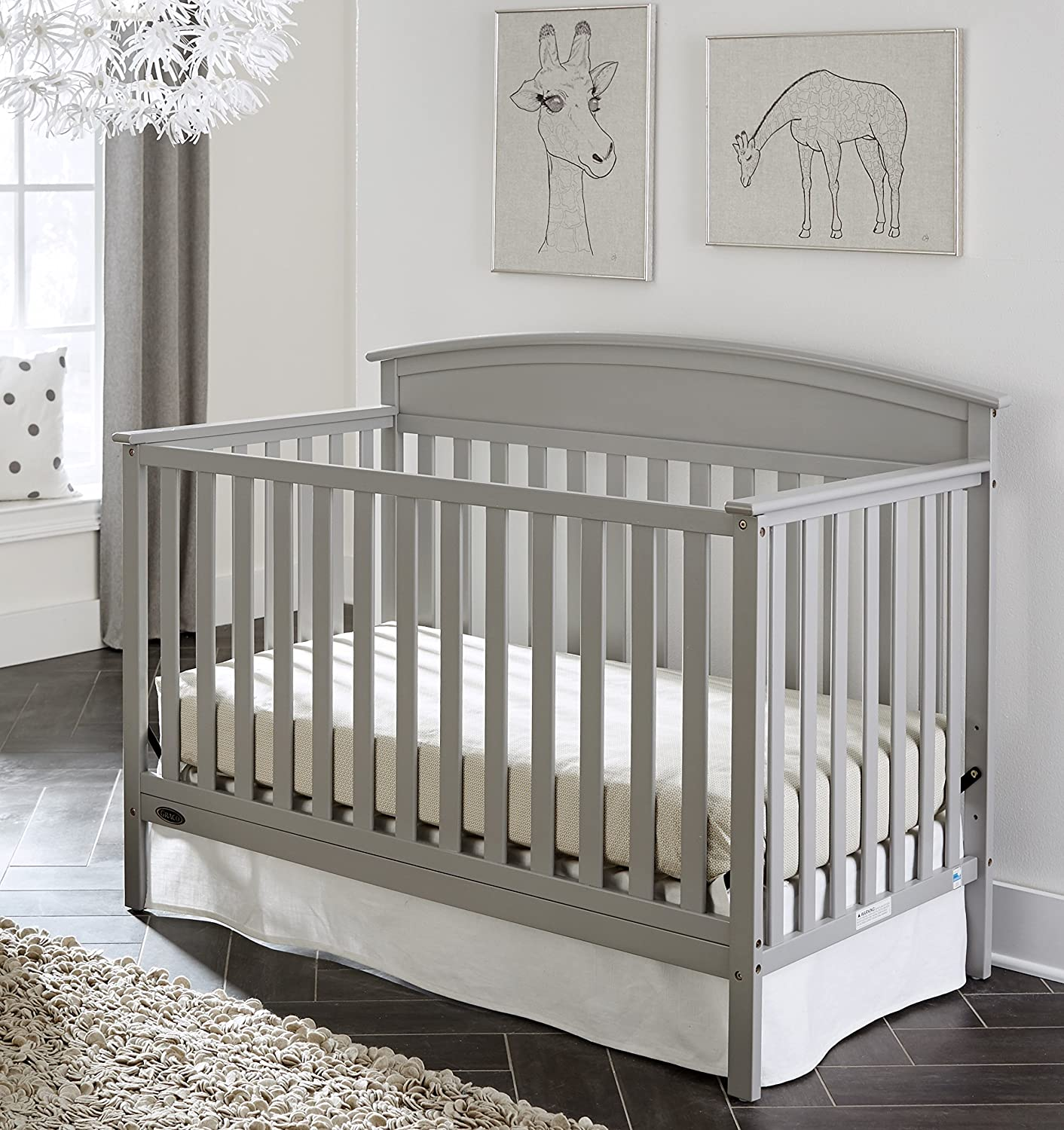 Amazon Graco Benton Convertible Crib Pebble Gray Baby