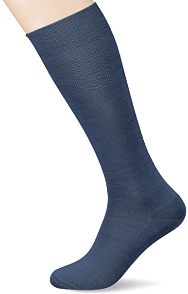 Kunert Gary, Calcetines Altos para Hombre, Azul (Blue-Grey 3660),