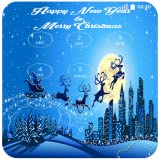Christmas Santa Wallpaper keypad Lock - New Year And New Locker Phone