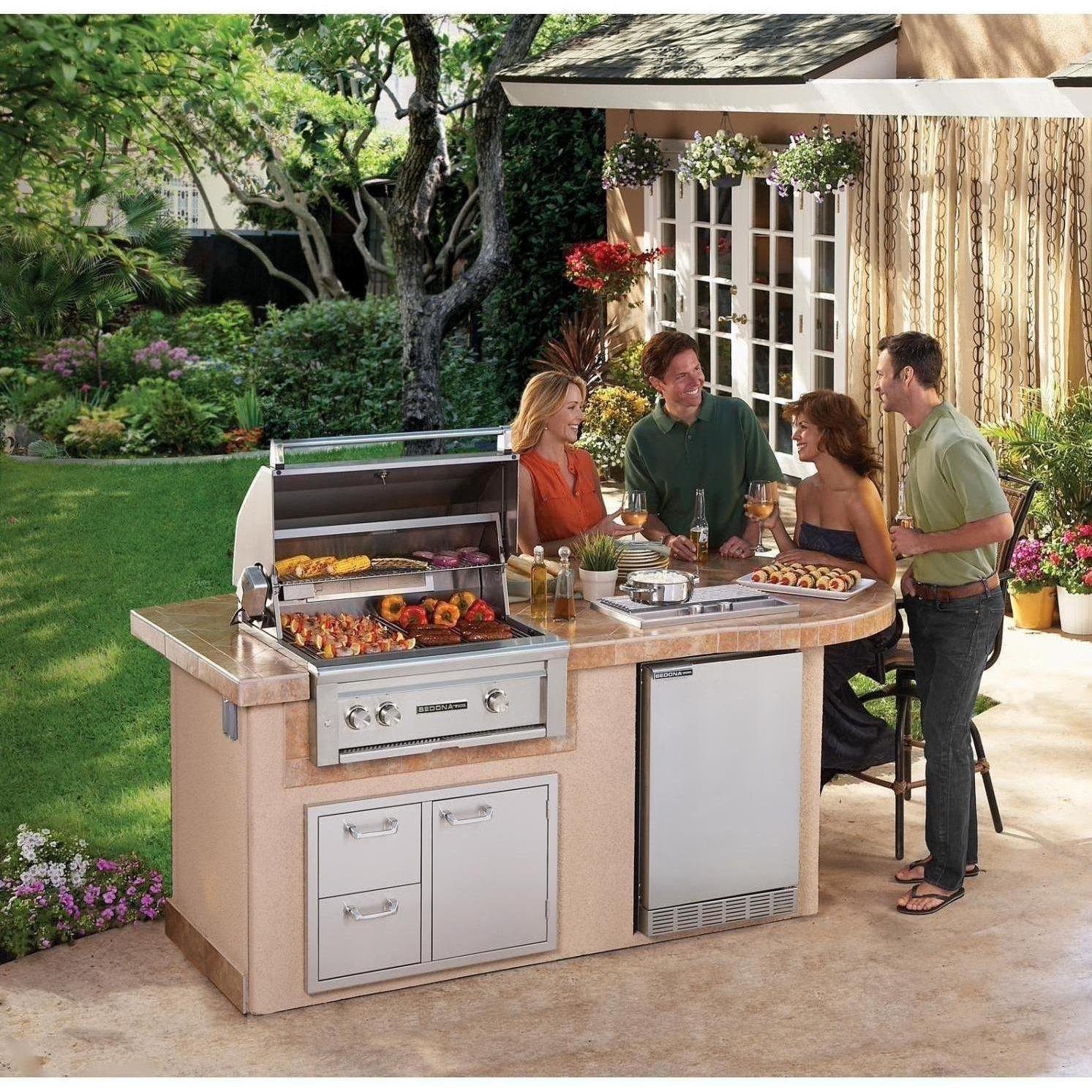 Amazon.com: Lynx L500PSR NG Sedona 30 Inch Built In Natural Gas Grill With  Pro Sear Burner And Rotisserie: Garden U0026 Outdoor