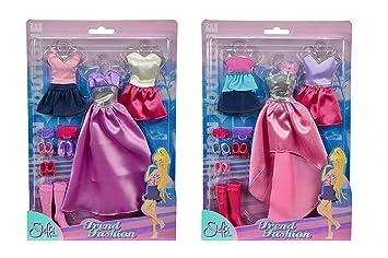 2e22ef0a3a38 Simba 105725626 - Steffi Love Trend Fashion Kleidungsset, 2-sort.