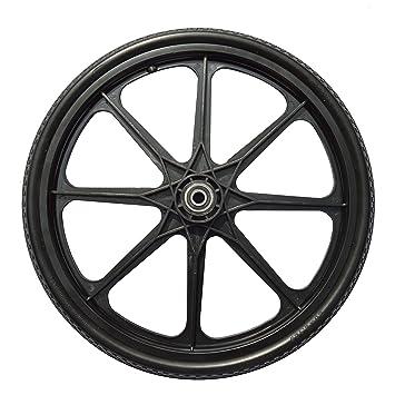 20 X 2 125 Inch Flat Free Cart Tire On Plastic Rim