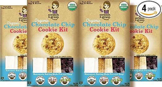 Conjunto para preparar galletas con chispas de chocolate ...