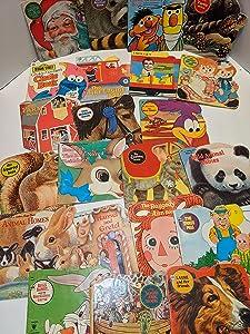 Vintage Little Golden Book Lot of 10 Hardcover Books