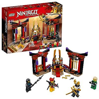 LEGO Ninjago Masters of Spinjitzu, Throne Room Showdown Building Set Construction Toy for Kids: Toys & Games [5Bkhe1806936]