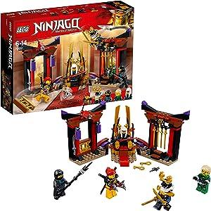 LEGO Ninjago Masters of Spinjitzu, Throne Room Showdown Building Set Construction Toy for Kids