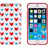 "iPhone 6 Case, DandyCase PERFECT PATTERN *No Chip/No Peel* Flexible Slim Case Cover for Apple iPhone 6 (4.7"" screen) - LIFETIME WARRANTY [Colorful Hearts]"