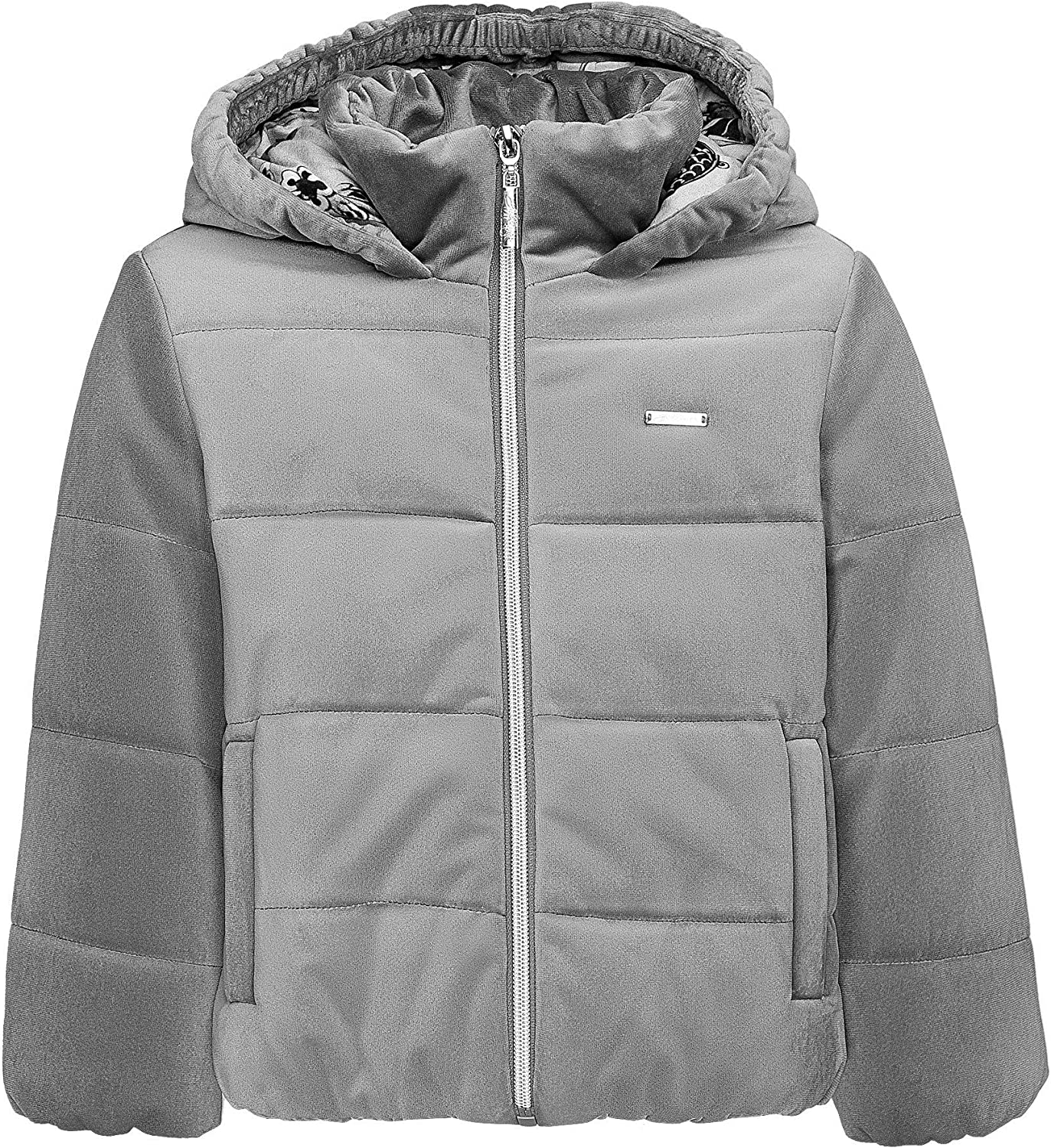GULLIVER Girls Quilted Coat Demi Season Hooded Jacket Beige Long Waterproof Plain 9-15 Years Kids