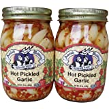 Amish Wedding Foods Hot Pickled Garlic 2 - 15 oz. Jars
