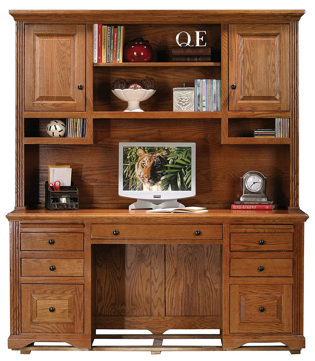 elegant corner with hutch custom large wood and outstanding white desk drawers tall contemporary