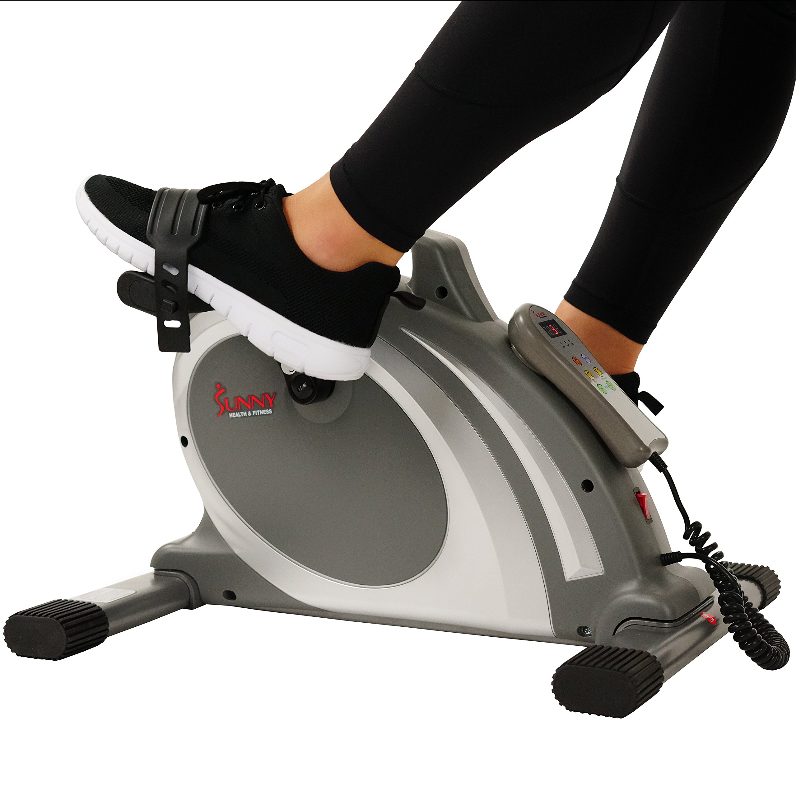Sunny Health & Fitness Mini Cycle with 90 RPMs for Leg and arm Exercises with Motorized and Manual Option - SF-B0717 by Sunny Health & Fitness (Image #10)