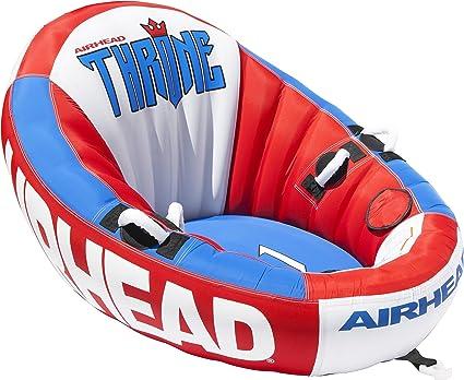 Amazon.com: Airhead Trono 1, Rojo, Blanco y Azul: Sports ...