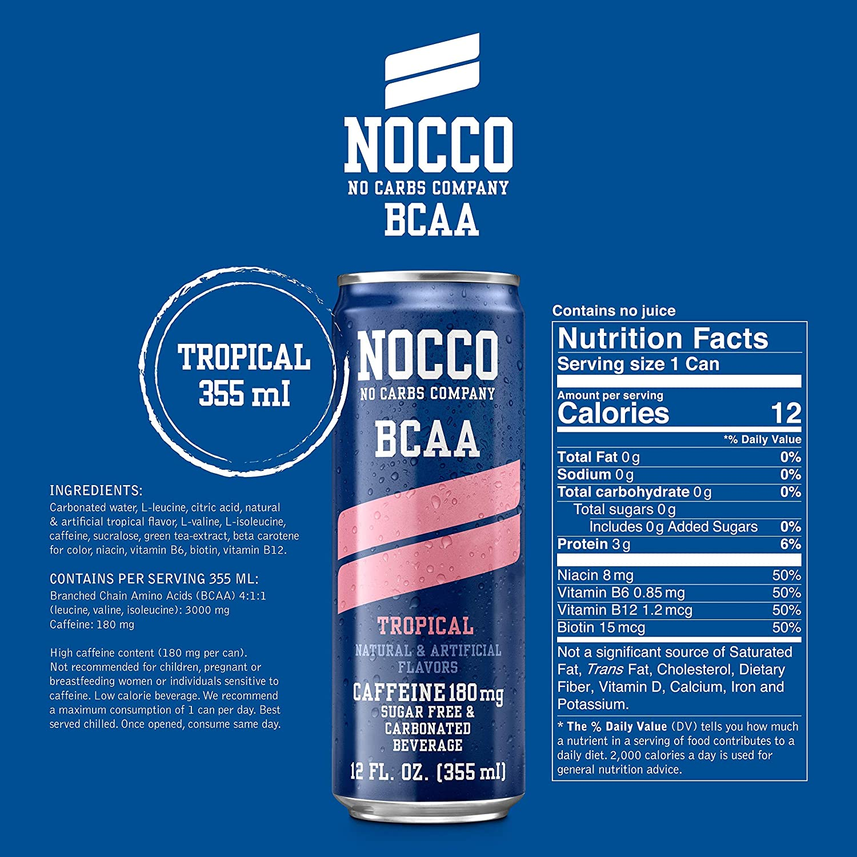 nocco energy drink