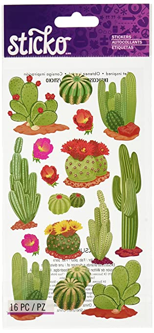 Sticko desert cactus stickers