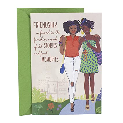 Amazon hallmark mahogany birthday greeting card two friends hallmark mahogany birthday greeting card two friends m4hsunfo