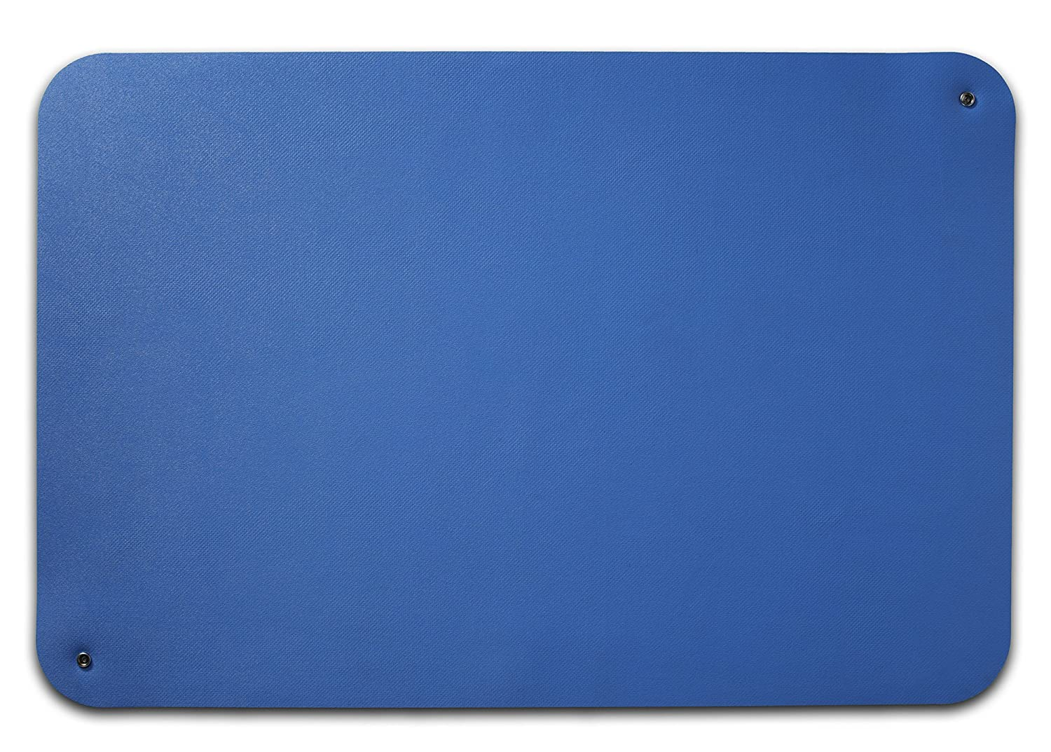Guardian ESDMATBLUESL2X3 Electro Guard ESD Mat, Single Layer, Dissipates Static INHERENTLY from Work Surfaces and Personnel Quickly and Safely, Rubber, 2' x 3', Blue 2' x 3' Millennium Mat Company