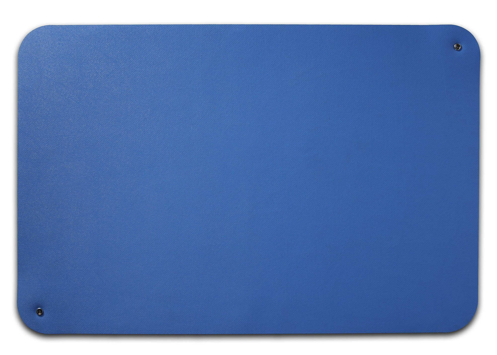 Guardian ESDMATBLUEDL2X3 Electro guard ESD Mat, Dual Layer, Dissipates Static INHERENTLY From Work Surfaces and Personnel Quickly and Safely, Rubber, 2' x 3', Blue
