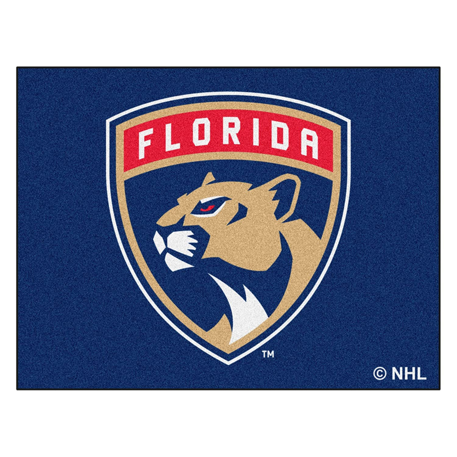 FANMATS NHL Florida Panthers Nylon Face Tailgater Rug 10537