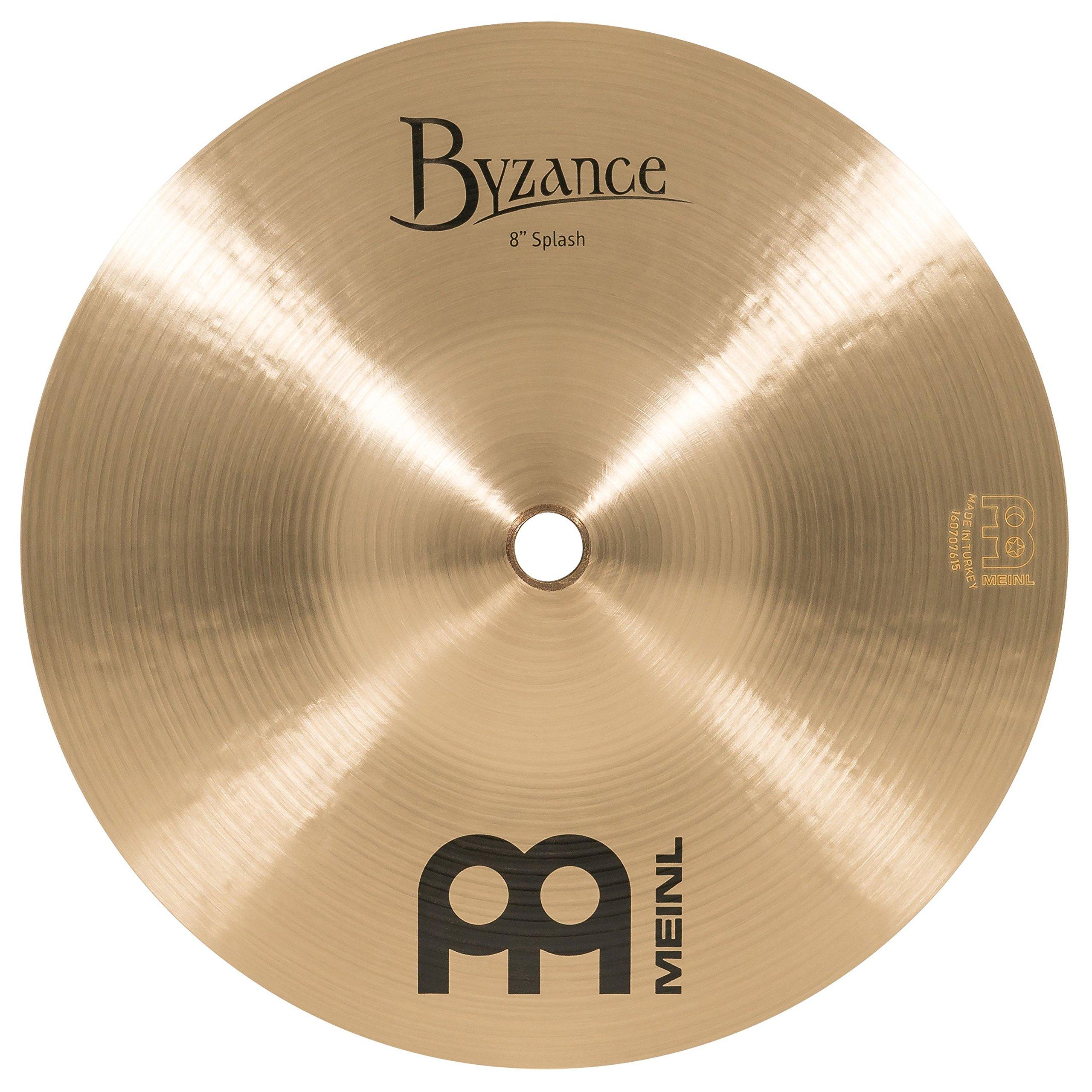 Meinl Cymbals B8S Byzance 8-Inch Traditional Splash Cymbal (VIDEO) by Meinl Cymbals