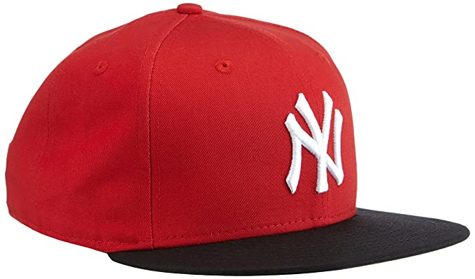 15af4a50c Red/Black/White MLB 9FIFTY Block New York Yankees Snapback by New ...