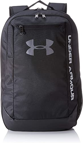 Under Armour Men UA Hustle Backpack LDWR, Waterproof Bag with Two Compartments and Laptop Storage