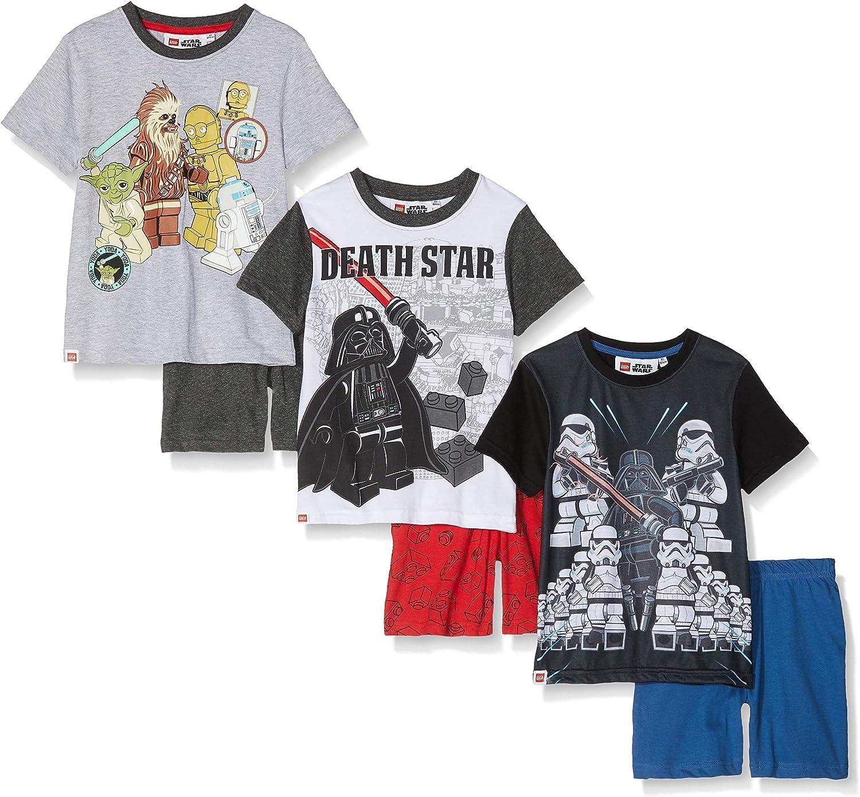 FABTASTICS Collorrado Pijama, Multicolor (Mehrfarbig), 116 Pack de ...