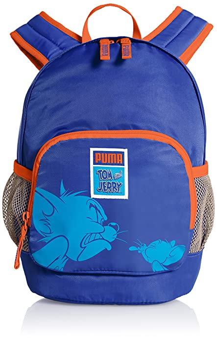 PUMA Rucksack Tom und Jerry Backpack - Mochila Infantil, Color Azul (Sodalite Blue), Talla 25 x 36 x 17 cm, 13 litros: Amazon.es: Zapatos y complementos