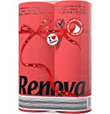 Renova Red Label Lot de 6 rouleaux de papier toilette rouge