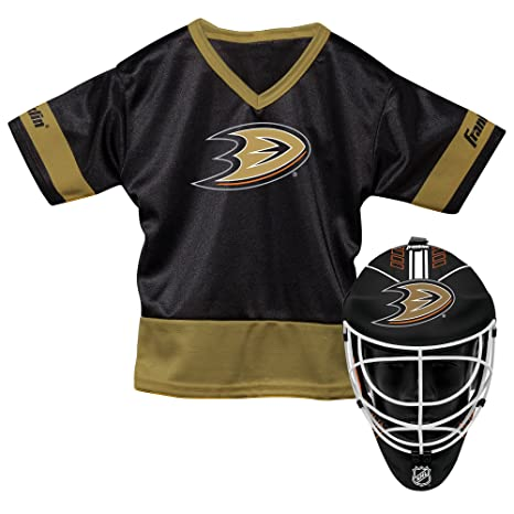 Amazon.com   Franklin Sports NHL Anaheim Ducks Youth Team Uniform ... 387784309