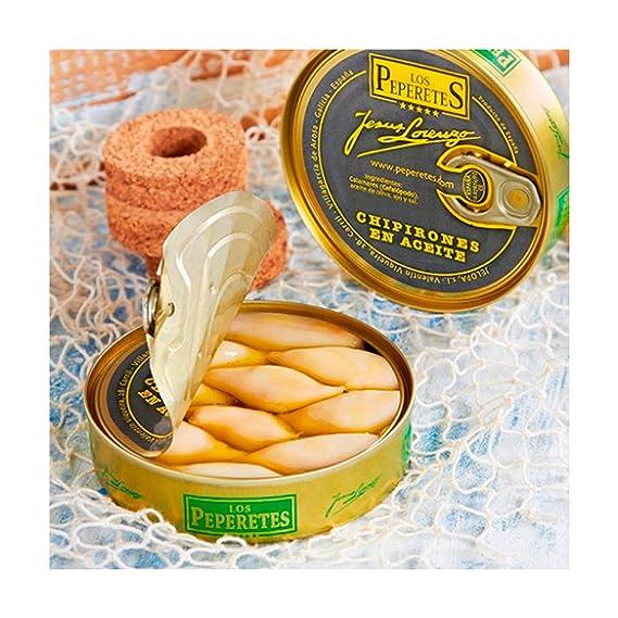 Los Peperetes - Chipirones en Aceite de Oliva