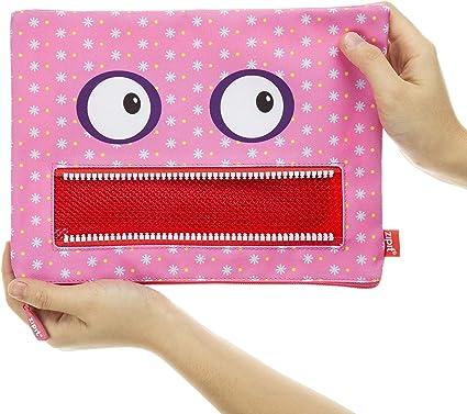 Zipit - Estuche Googly Jumbo, color Rosa.: Amazon.es: Oficina y papelería