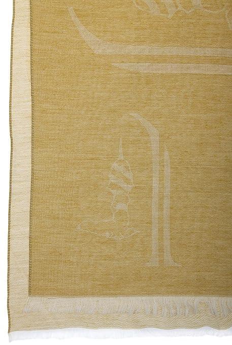 3d84b25e4ce6df Trussardi Damen Schal SCIARPA Gelb-Creme TS001: Amazon.de: Bekleidung