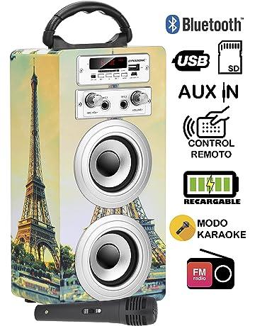 Amazon.es: Equipos de karaoke: Instrumentos musicales: Sistemas, Reproductores, Monitores de vídeo y mucho más