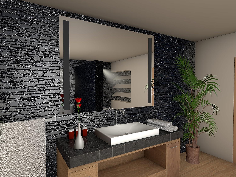 Paris Badspiegel mit LED Beleuchtung Beleuchtung Beleuchtung - B  100 cm x H  90 cm 1f2685