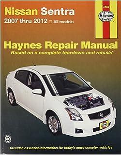 Chrysler sebring 200 and dodge avenger 2007 thru 2014 all models haynes 72052 nissan sentra 07 12 fandeluxe Gallery