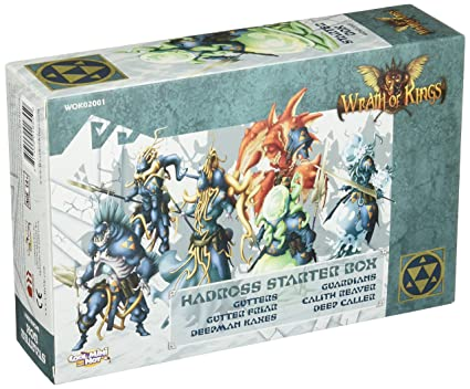 Cool Mini or Not Wrath of Kings: Hadross Starter Box Board Game