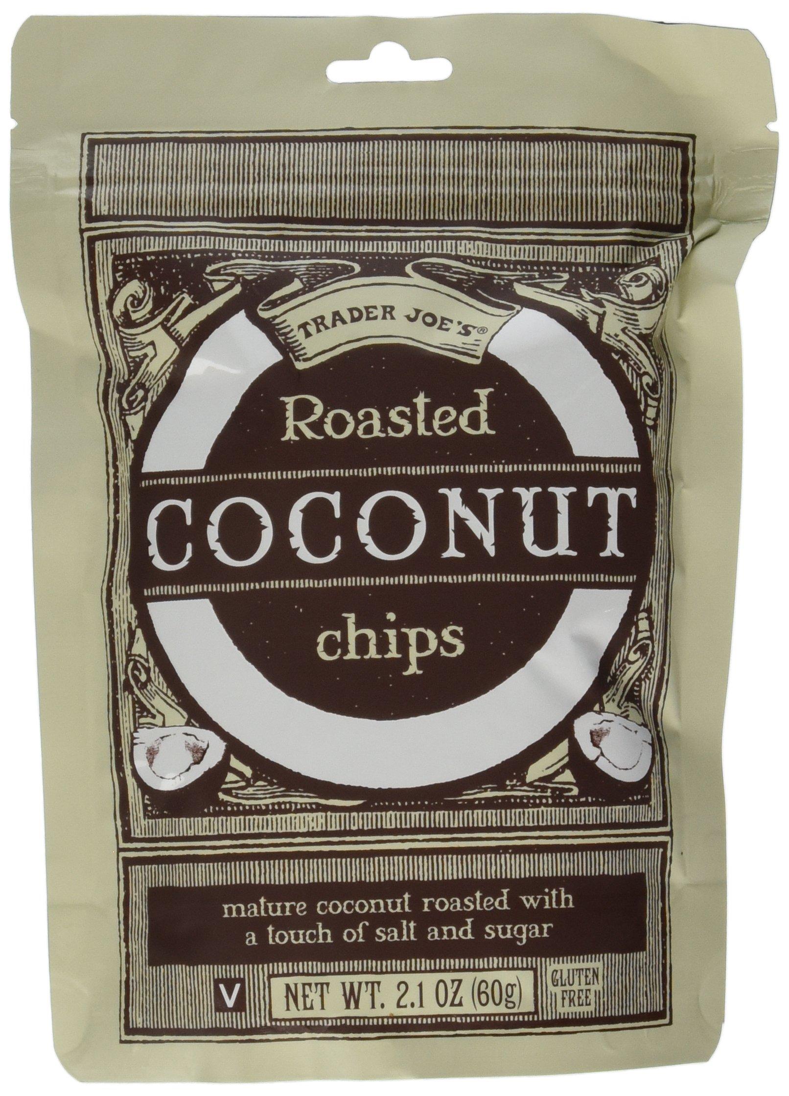Trader Joe's Roasted Coconut Chips (4 Pack) by Trader Joe's