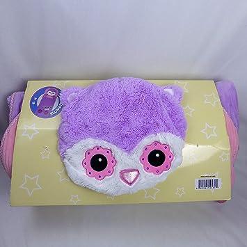 the latest dba1e 8f5c3 Hugfun Animal Slumber Bag (Pink Owl)