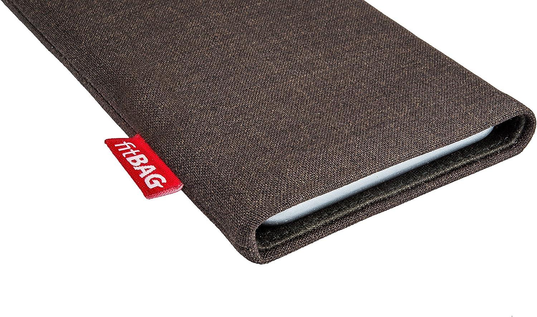Made in Germany fitBAG Twist Schwarz Handytasche Tasche