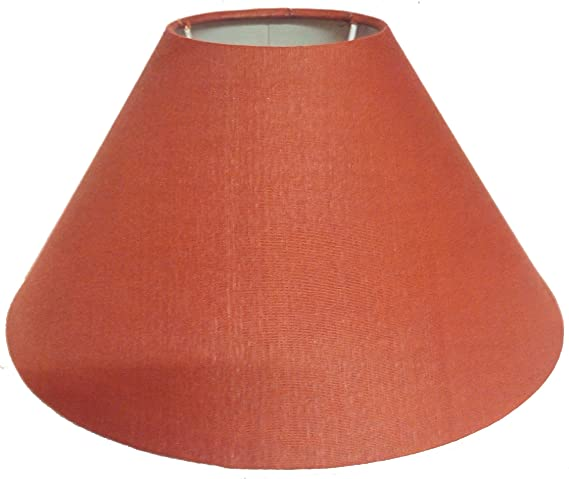 Buy rdc 10 round plain rust colour lamp shade for table lamp rdc 10quot round plain rust colour lamp shade for table lamp mozeypictures Gallery