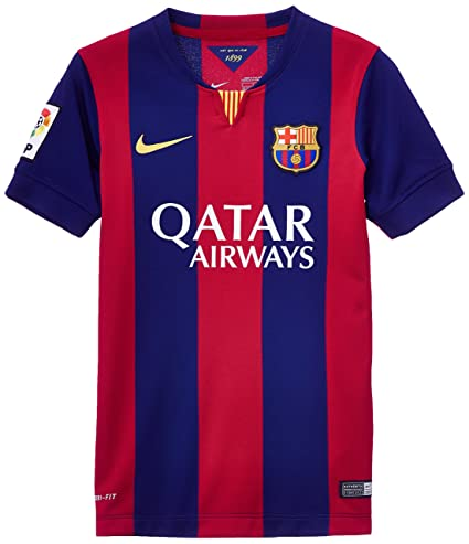 Nike Camisetas de equipación Fc Barcelona Stadium Home Blue S Junior