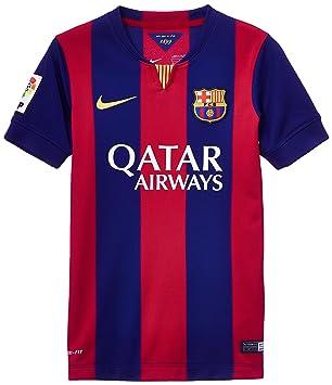 Nike Camisetas de equipación Fc Barcelona Stadium Home Blue S Junior