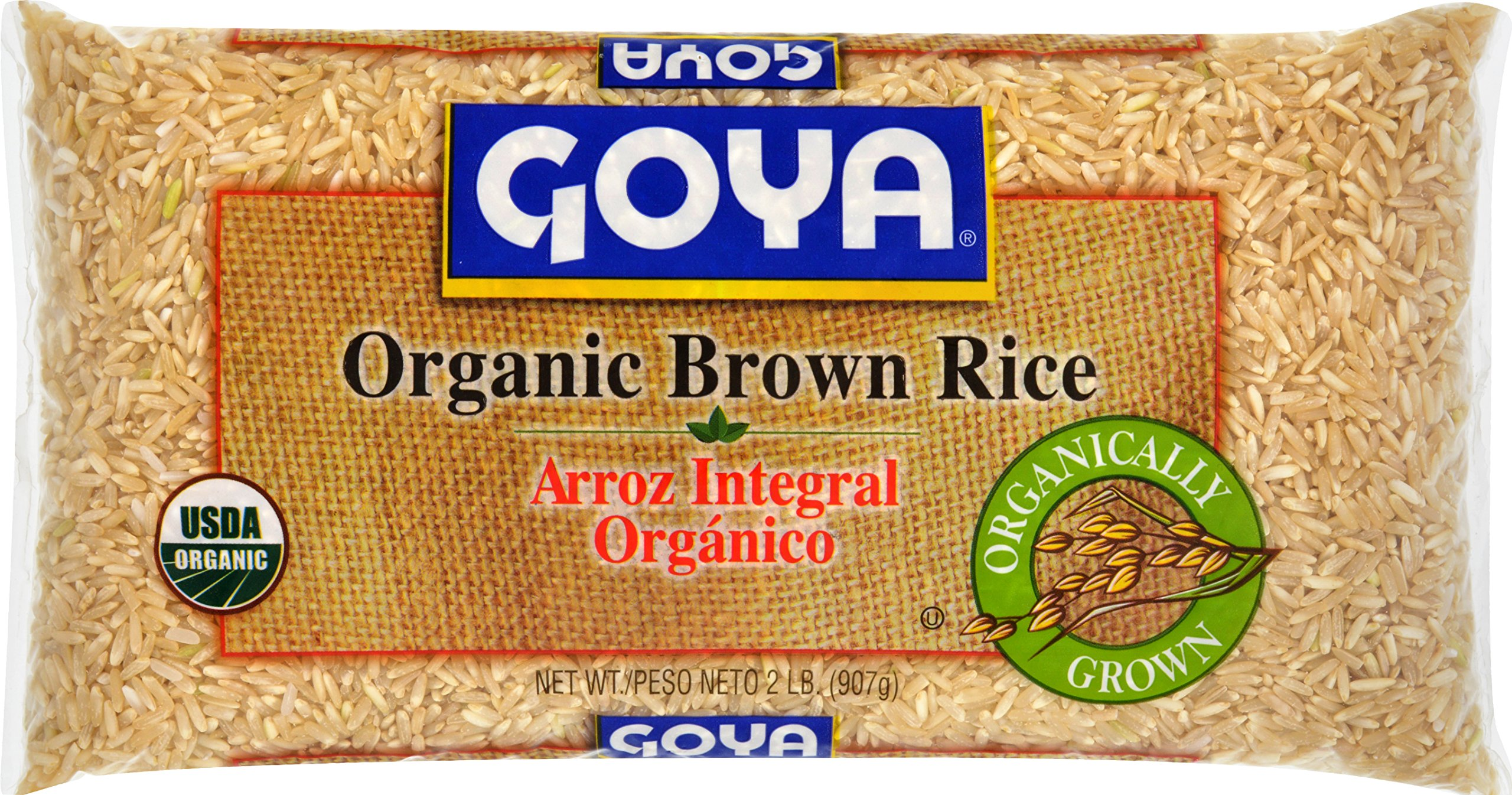 Goya Foods Organic Brown Rice, 32 Ounce (Pack of 12)
