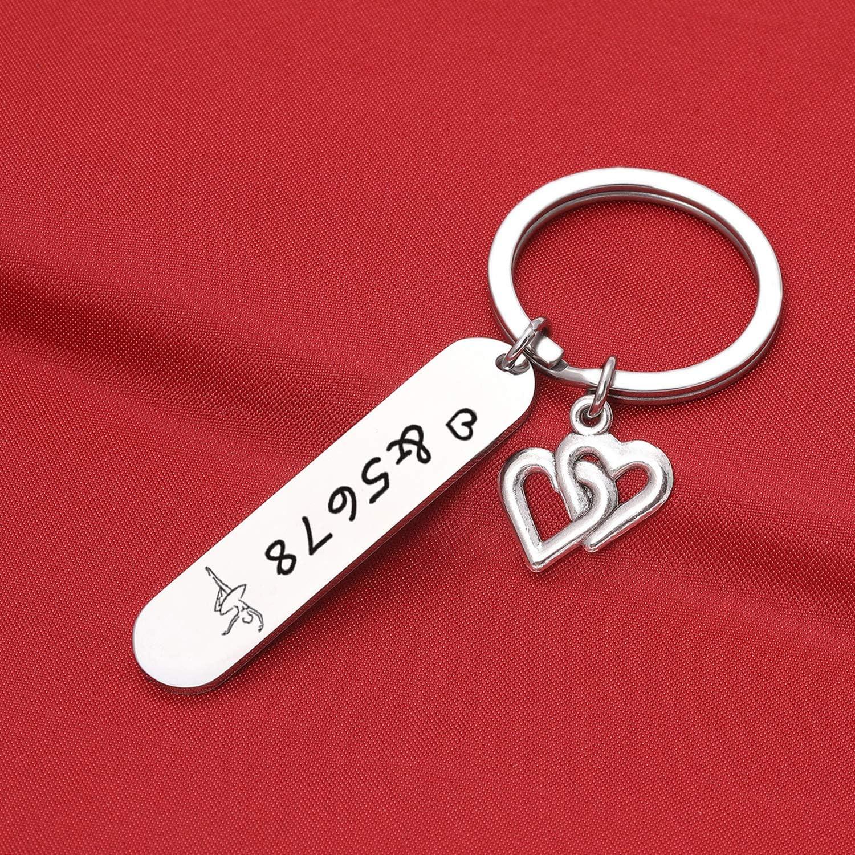 /&5678 Gift Ballet Dance Teacher Gift Ballet Keychain Dance Club Gift Dance Lover Gift Dance Teacher Appreciation Jewelry Dance Teacher Birthday Gift Dance Jewelry 5678 Keychain