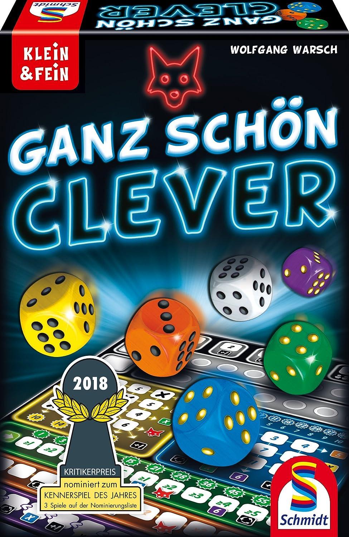 Schmidt Spiele 49340 Ganz schön clever: Amazon.de: Spielzeug