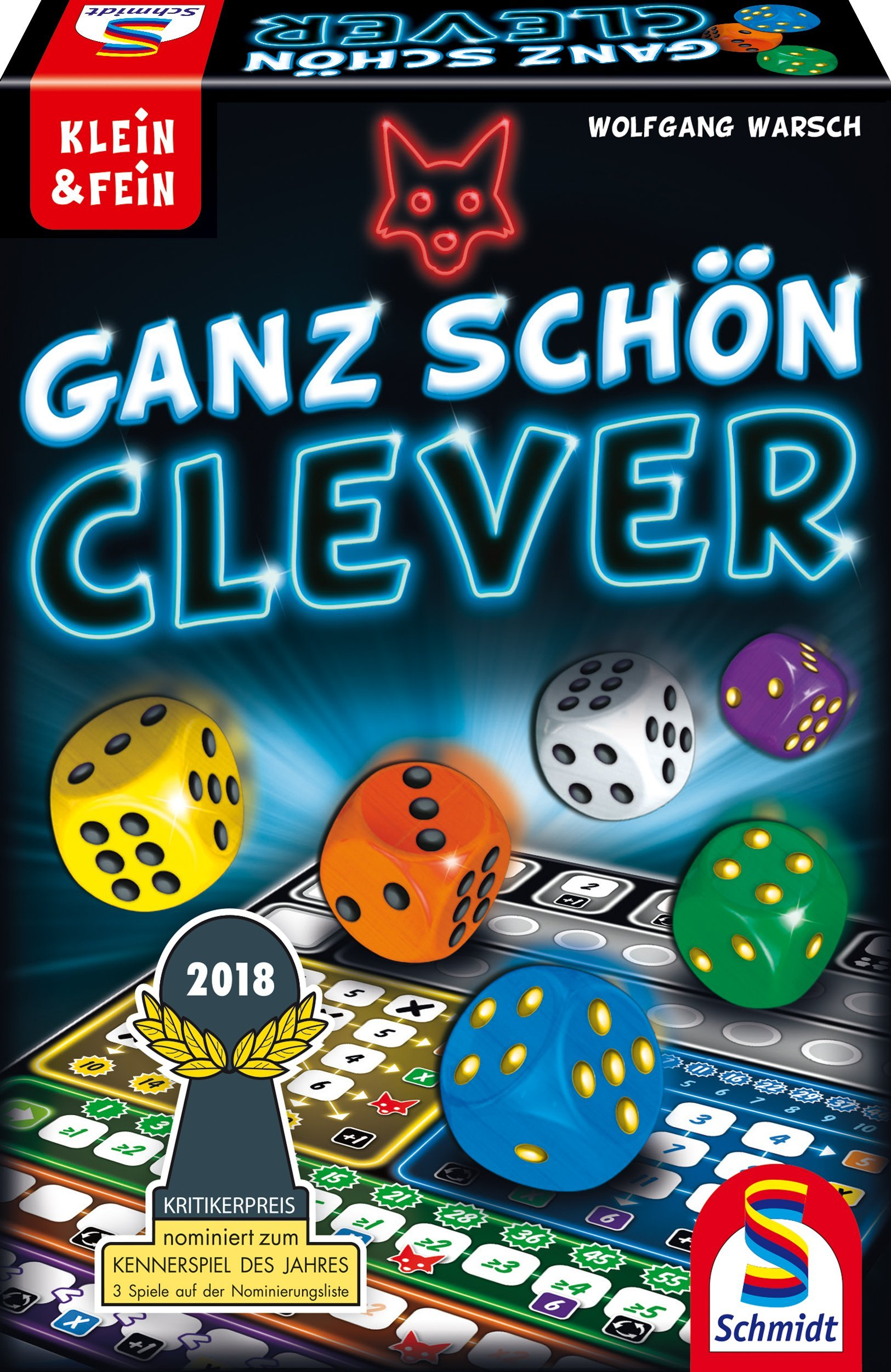 Schmidt Spiele 49340'' Very Clever Game by Schmidt