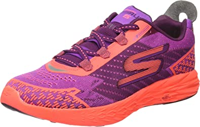 Skechers Go Run 5, Zapatillas de Entrenamiento para Mujer, Morado (Purple/HT. Pink), 39.5 EU: Amazon.es: Zapatos y complementos